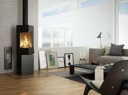 Intelligent Wood-burning Stove with Capital S...